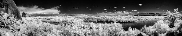 San Juan River Pano _IR_BW