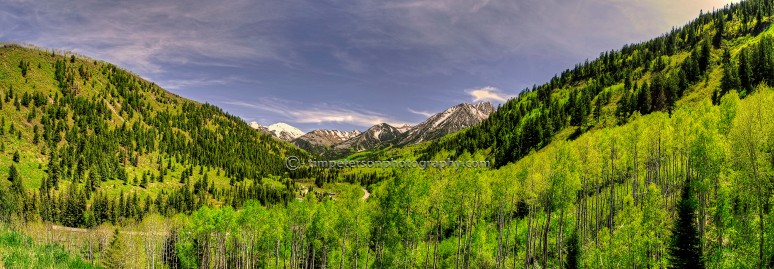 Cristal River Valley Pano