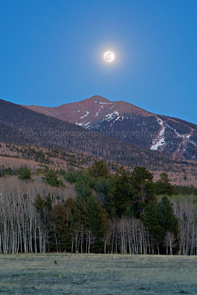 Humphreys Peak Moonrise
