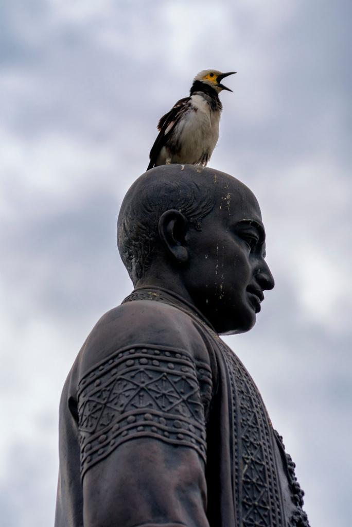 Wat Arun Singer (c) Tim Peterson