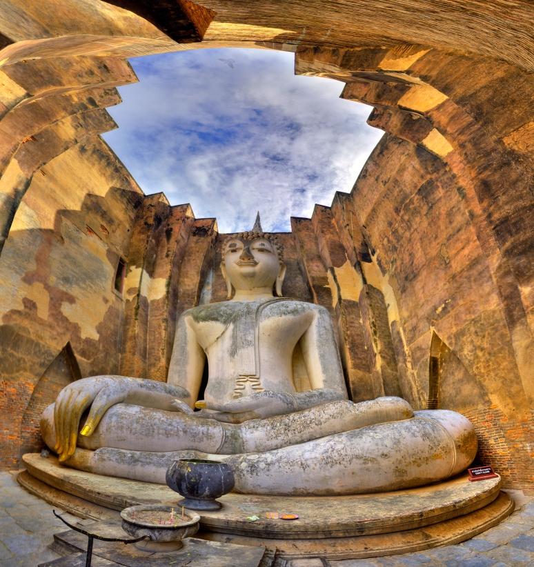 Whispering Buddaha Panorama (c) Tim Peterson
