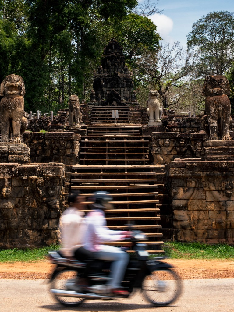 Angkor Thom Moto (c) Tim Peterson crop